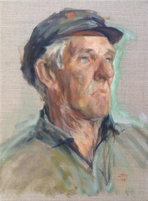 Portrait of Jimper Sutton by portrait artist Marina Kim