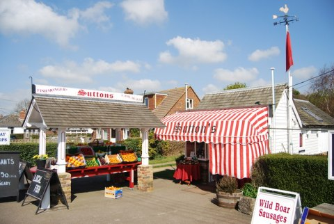 Sutton's Fish Shop. Sea road, Winchelsea.